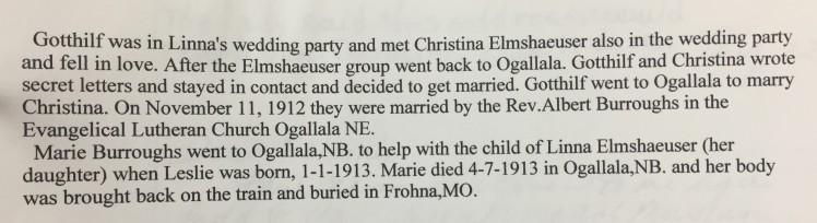 Christina Elmshauser story