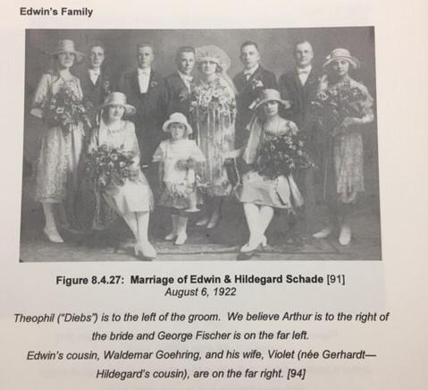 Edwin and Hildegard Weinhold wedding