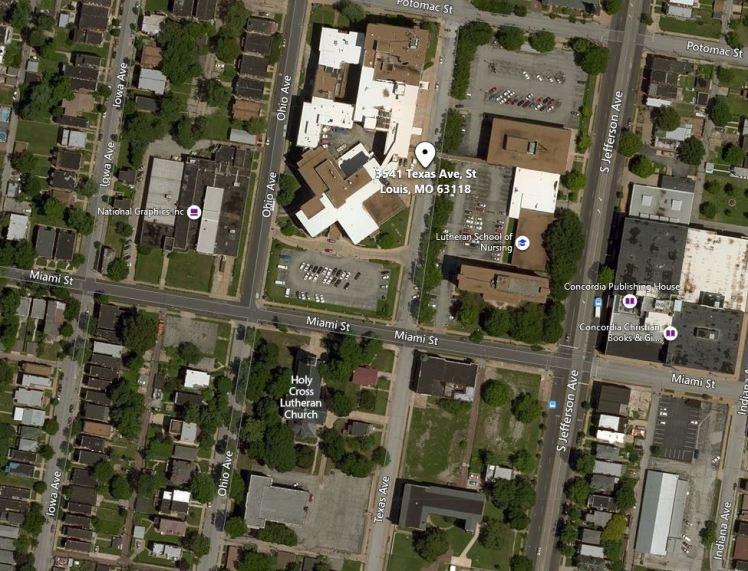 Edwin Weinhold address St. Louis MO map