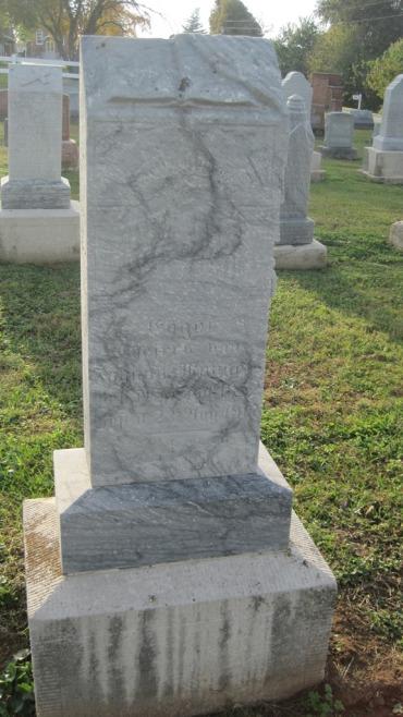 Engel Mangels gravestone Salem Farrar MO