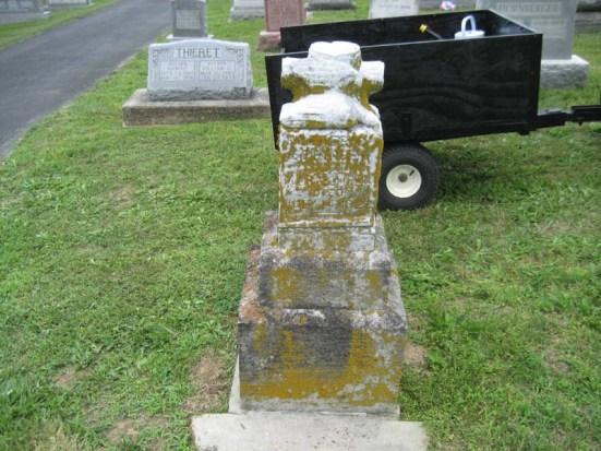 Friedrich Springer gravestone Immanuel Perryville MO