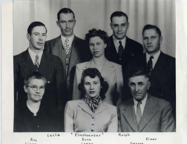 George Elmshauser family
