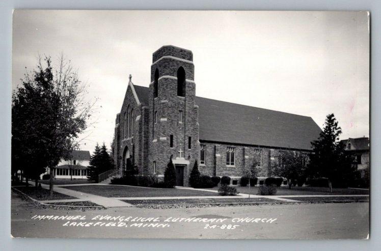 Immanuel Lutheran Lakefield MN