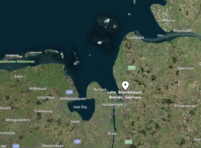 Lehe, Bremerhaven, Germany map