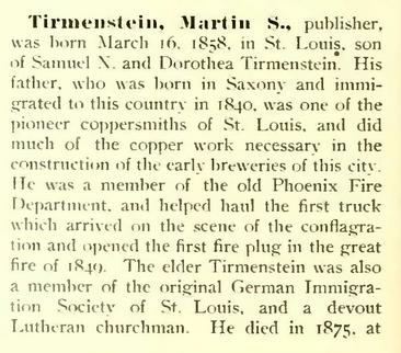 Martin S. Tirmenstein bio 1