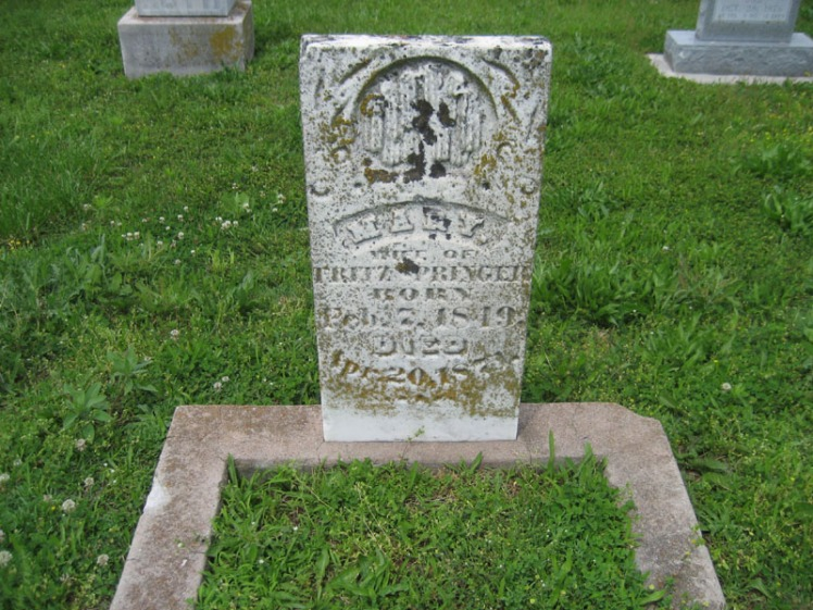 Mary Springer gravestone Immanuel Perryville MO