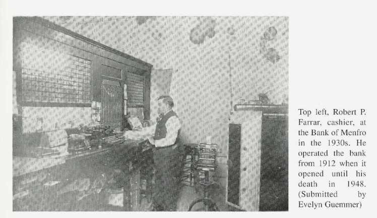 Robert Farrar Menfro banker