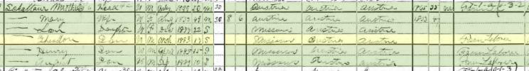 Theodore Schattauer 1900 census Shawnee Township MO