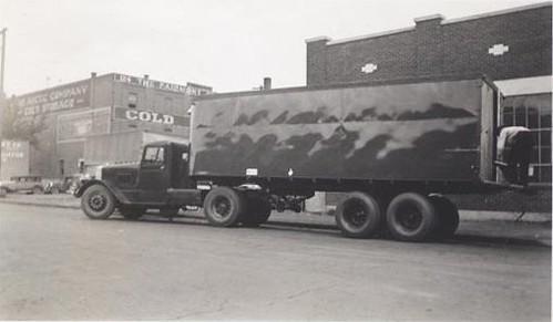 Tractor Trailer 1930's'