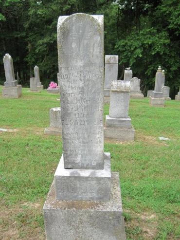 Anna Hilpert gravestone Concordia Frohna MO