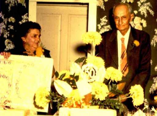 Arthur and Caroline Estel