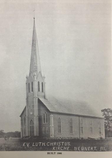 Christ Lutheran Church Jacob IL built 1906
