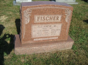 Eleanor Fischer gravestone Trinity Altenburg MO