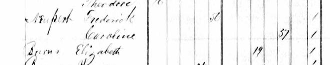 Elizabeth Burroughs 1876 state census Wittenberg MO