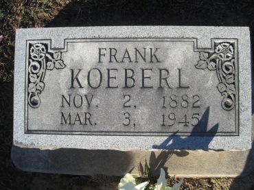 Frank Koeberl gravestone Immanuel Altenburg MO