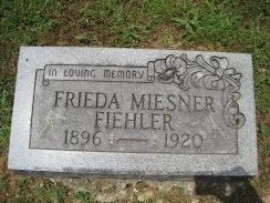 Frieda Fiehler gravestone Concordia Frohna MO