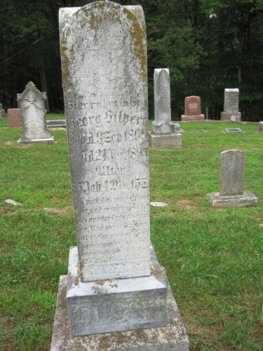 George Hilpert gravestone Concordia Frohna MO