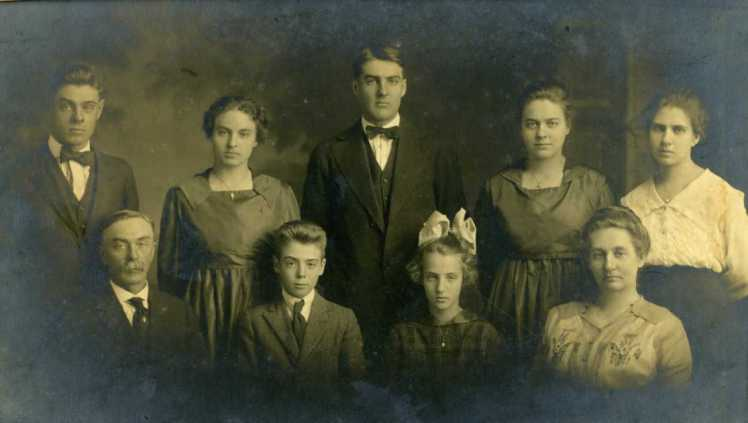 Gottfried Bergt family