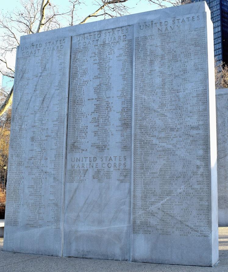 Harvey Schlessinger East Coast Memorial Manhatten NY