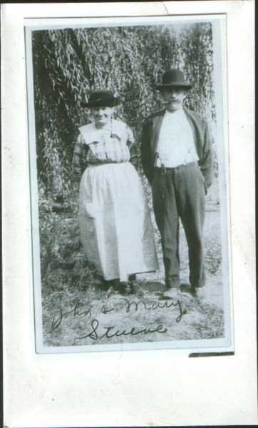 John and Mary Stueve