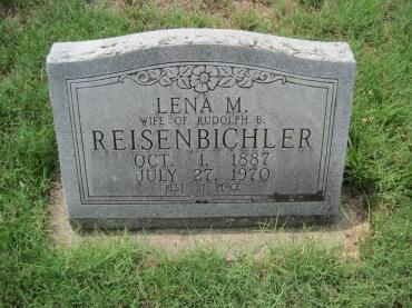 Lena Reisenbichler gravestone Zion Pocahontas MO