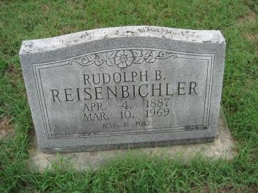 Rudolph Reisenbichler gravestone Zion Pocahontas MO