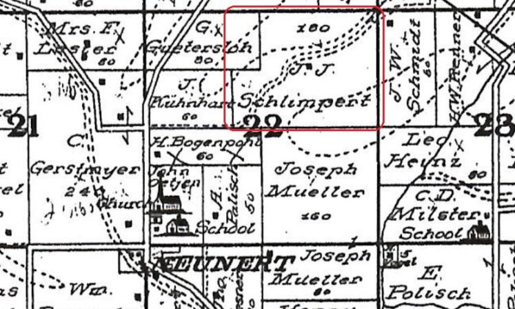 Schlimpert land Fountain Bluff Township IL