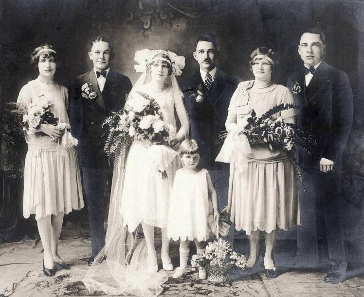 Theodore Fischer first wedding