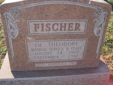 Theodore Fischer gravestone Trinity Altenburg MO