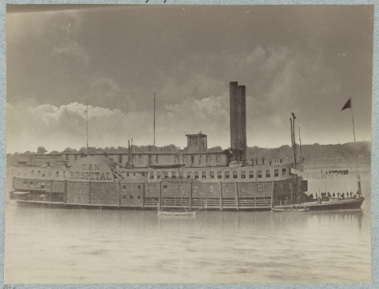U.S. Hospital Boat Red Rover Mississippi River Fleet