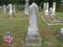 Anna Barbara Weith gravestone Peace Friedenberg MO