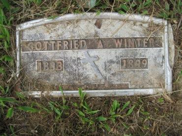 August Winter grave marker Concordia Frohna MO