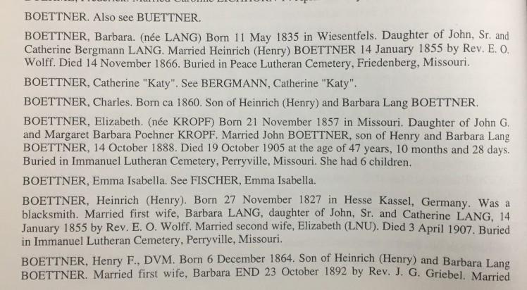 Boettner names Peace Friedenberg book