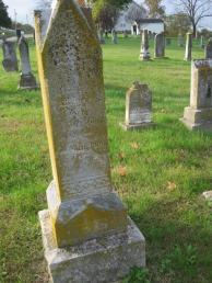 Clara Meyr gravestone Immanuel New Wells MO Old
