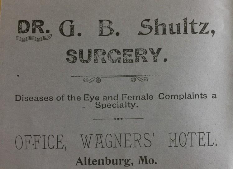 Dr. G.B. Schultz Altenburg