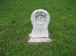 Flora Boxdorfer gravestone Immanuel Perryville MO