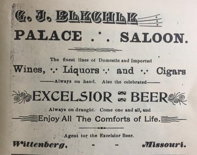 G.J. Blechle Saloon Altenburg