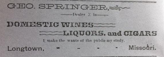 George Springer Liquors Longtown