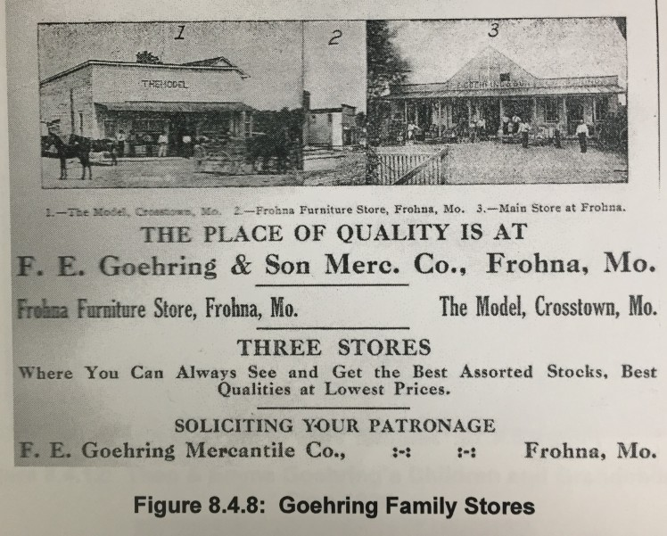 Goehring and Son Stores Ad