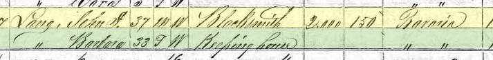 Henry Buettner 1870 census 1 Perryville MO