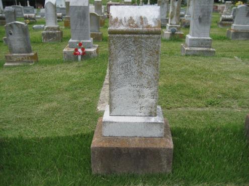 John Boxdorfer gravestone Immanuel Perryville MO