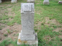 Joseph Kranawetter gravestone 1 Zion Pocahontas MO