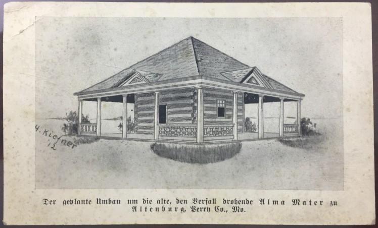 Log Cabin College pavilion plan