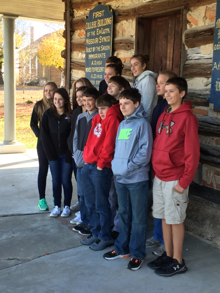 Log Cabin College school tour
