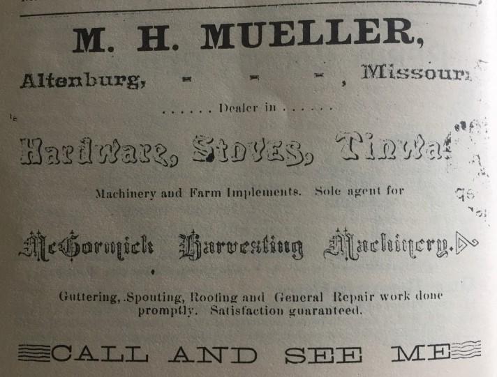 M.H. Mueller Hardware Altenburg