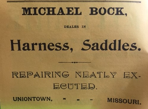 Michael Bock Harness Shop Uniontown