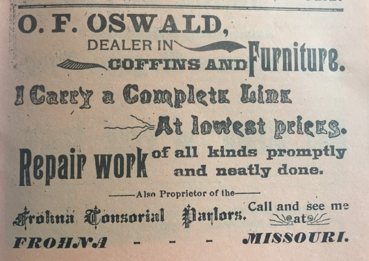 Oswald Furniture Frohna