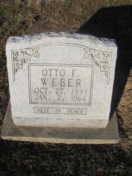 Otto Weber gravestone Immanuel Altenburg MO