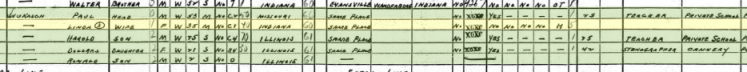 Paul Wukasch 1940 census Chicago IL