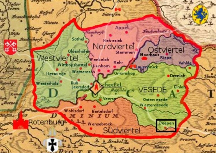 Scheeßel Map Deepen